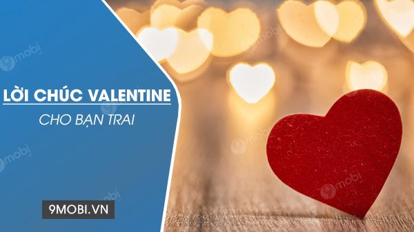 loi chuc valentine cho ban trai
